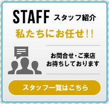 スタッフ紹介 私たちにお任せ!!